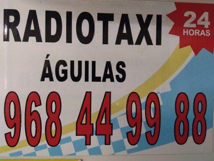 pedir taxi en aguilas