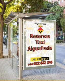 pedir taxi en aiguafreda