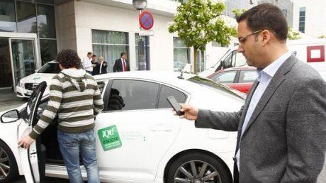 pedir taxi en alava aplicaciones