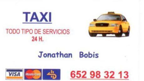 pedir taxi en alcala del rio