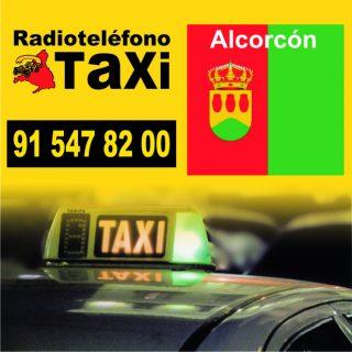 pedir taxi en alcorcon