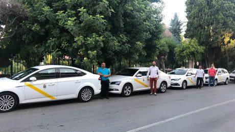 pedir taxi en alfacar