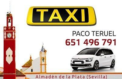 pedir taxi en almaden de la plata