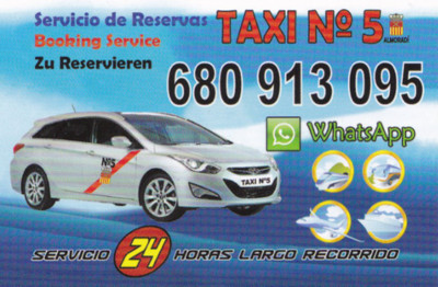 pedir taxi en almoradi