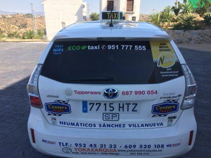 pedir taxi en alozaina
