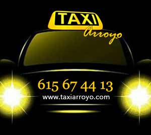 pedir taxi en arroyo de la luz