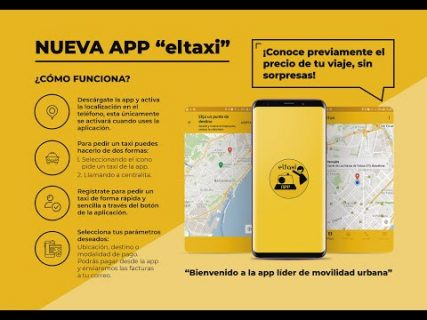 pedir taxi en barcelona app 2