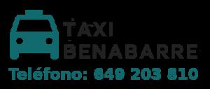 pedir taxi en benabarre