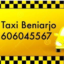 pedir taxi en beniarjo