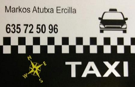 pedir taxi en bergara