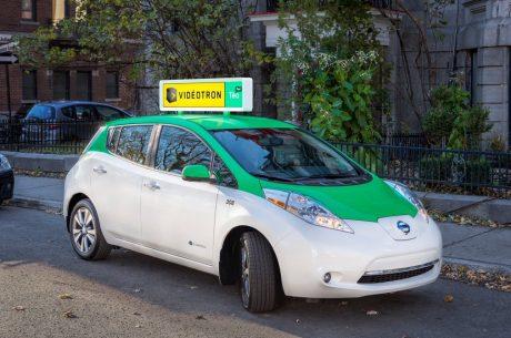 pedir taxi en canada