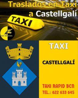 pedir taxi en castellgali