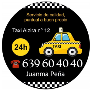 pedir taxi en catadau