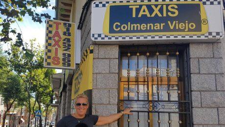 pedir taxi en colmenar
