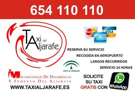 pedir taxi en espartinas