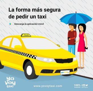 pedir taxi en la romana