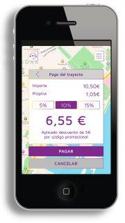 pedir taxi en lleida app