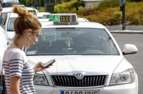 pedir taxi en madrid app