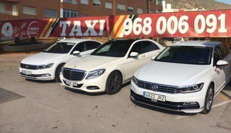 pedir taxi en mazarron