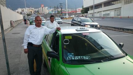 pedir taxi en monterrei