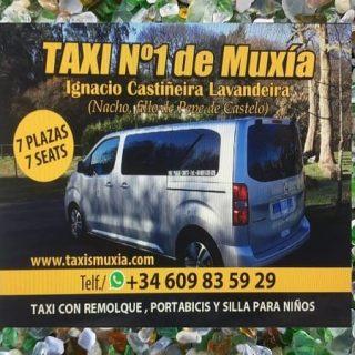 pedir taxi en muxia