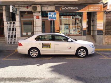 pedir taxi en oliva la