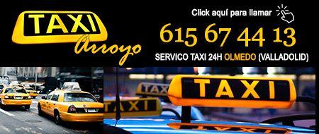 pedir taxi en olmedo
