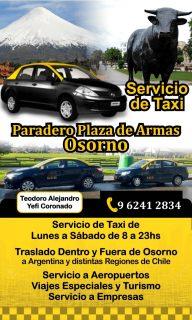 pedir taxi en osorno la mayor