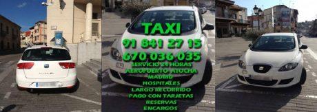 pedir taxi en pedrezuela