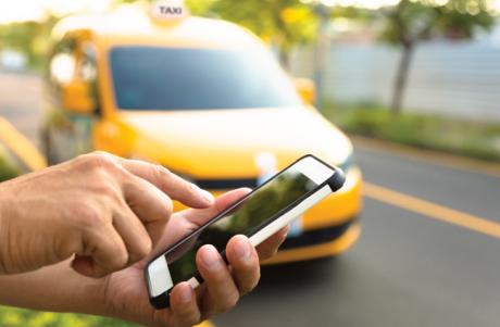 pedir taxi en peligros