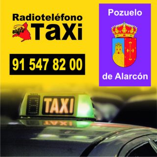 pedir taxi en pozuelo de alarcon