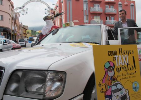 pedir taxi en realejos los