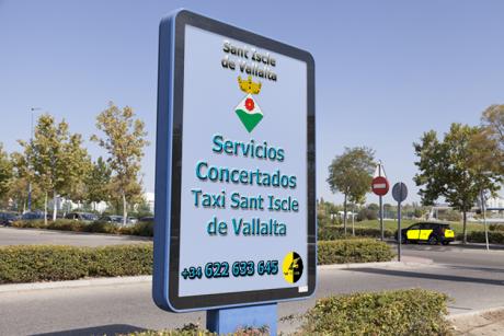 pedir taxi en sant iscle de vallalta