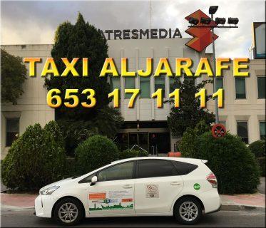 pedir taxi en santiponce