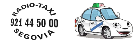 pedir taxi en segovia aplicaciones