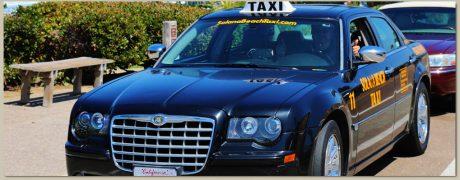 pedir taxi en solana