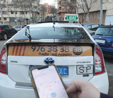 pedir taxi en teruel app