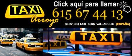 pedir taxi en tordesillas
