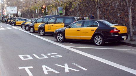 pedir taxi en viladecans