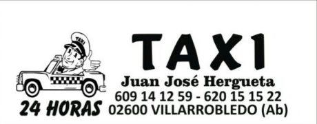 pedir taxi en villarrobledo