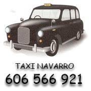 pedir taxi en villena